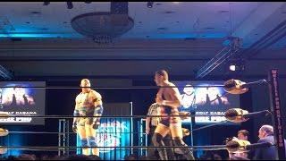 Ryback vs Colt Cabana at WrestleCon 2017 (Full Match)