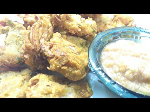 How to make Chana Dal and Onion Pakora Recipe | Chana Pyaaz Pakora.