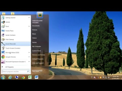 How to Display Smaller Icons on the Desktop with Clarity in Windows 7