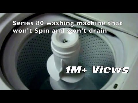 🌎 Washer Won't Spin or drain -- DIY -- Easy Fix