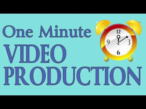 One Minute Video Production with free music and PowerDirector