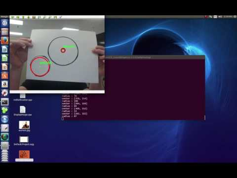 opencv circle detect webcam
