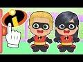 BEBES ALEX Y LILY Los bebés se transforman en LOS INCREIBLES | Dibujos animados para niños y niñas