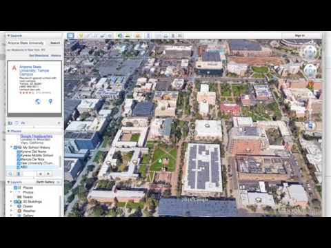 How to Make A Tour in Google Earth