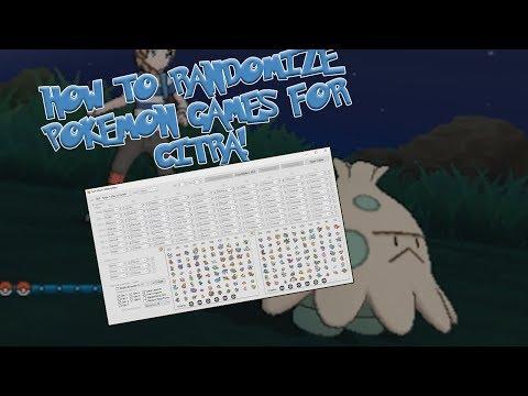 How To Randomize Pokemon Games For Citra!