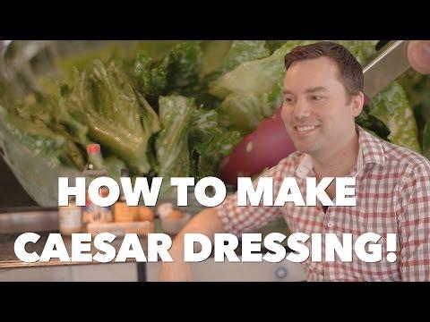 Home made Caesar Dressing - Simple Recipe Tutorial