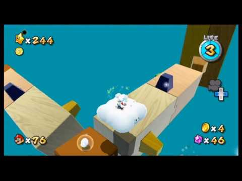 Super Mario Galaxy 2 Custom Level - Championship Galaxy Star 1 and Comet Mission Attempt