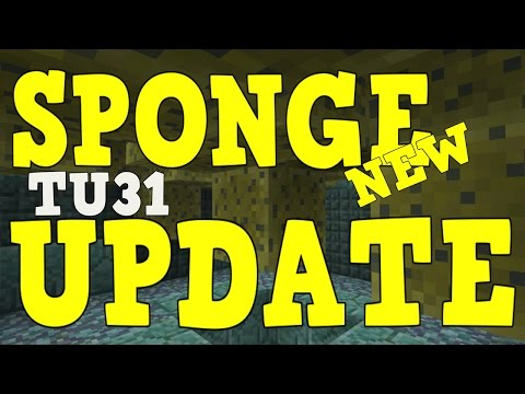 Minecraft Xbox 360/PS3 - TU31 New Sponge Feature!