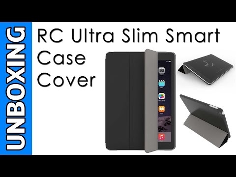 RC Ultra Slim Smart Case Cover for Apple iPad Air Unboxing