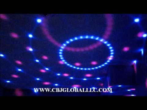 Wholesale LED Dj light disco Ball with speakers and usb port