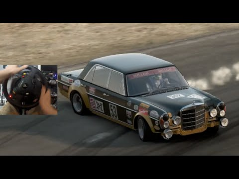 Project Cars GoPro Drift Tuning Mercedes-Benz 300 SEL-  WillowSprings