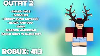 10 Girls Roblox Outfit Ideas 2017 Robomae X