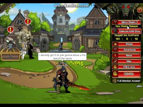 AQW: how to get dual vital bloodletters of nulgath