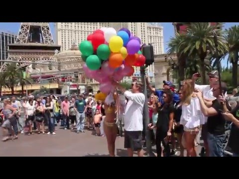 Michael's Birthday Flash Mob in Vegas