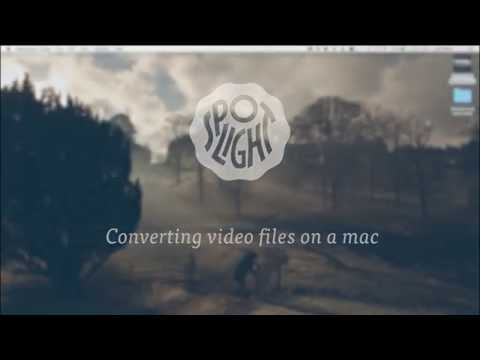How to convert a video file on a mac
