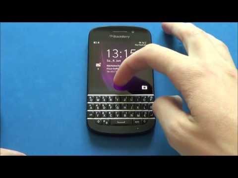 BlackBerry Q10 - Screenshot & hard reset