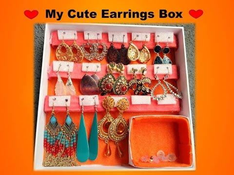 DIY My Earrings box