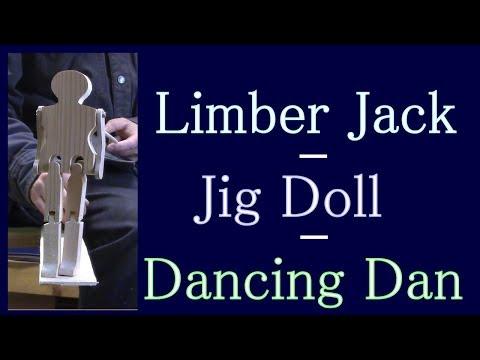 Limberjack or Jig Doll Folk Toy