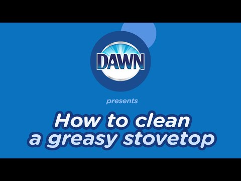 How to Clean a Greasy Stovetop