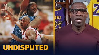 Shannon disagrees with Shaq about nobody being close to Michael Jordan's level | NBA | UNDISPUTED