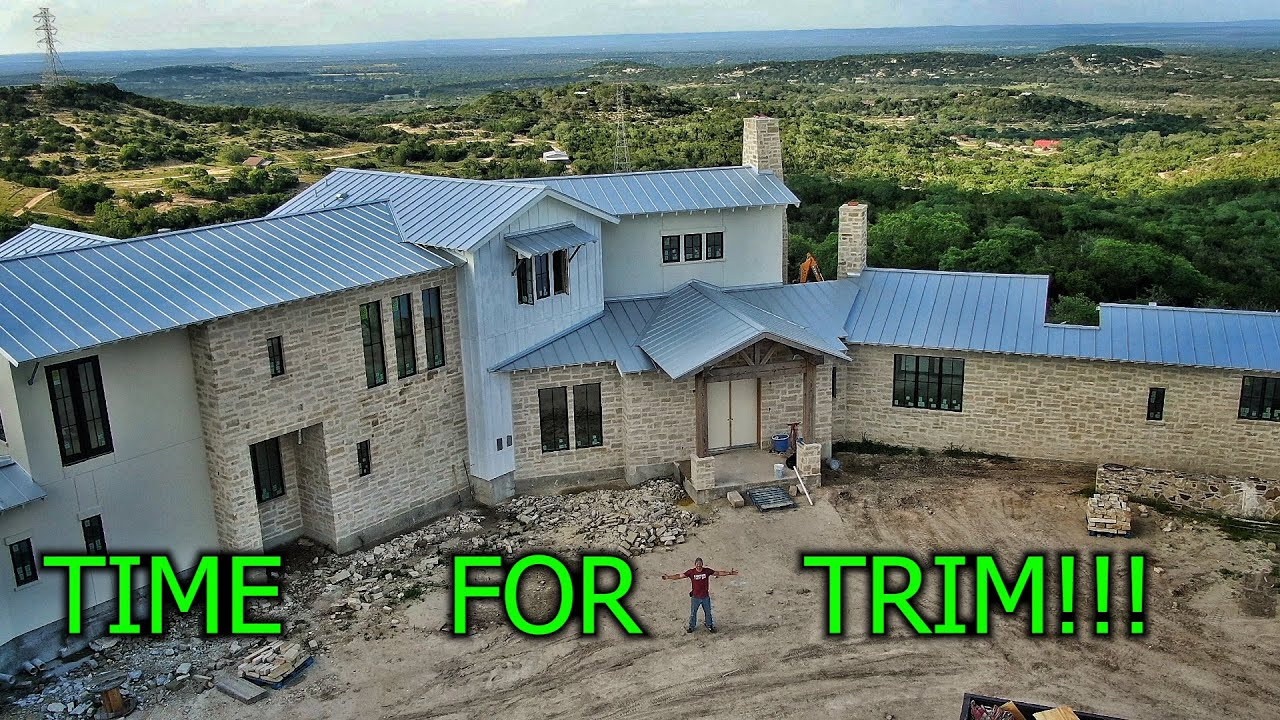 Finishing Beautiful Not Small House on a Hill: Part 1