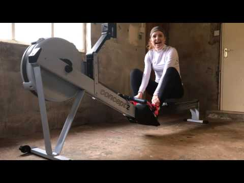 How not to erg -  five common mistakes on the rowing machine