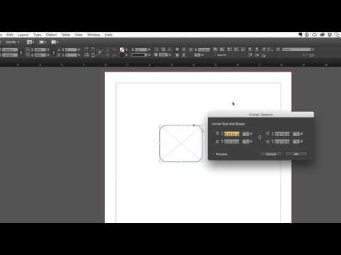 The Professional's Guide to Adobe InDesign - Rounding Corners