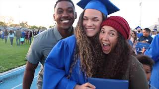 Boyfriend Surprises Girlfriend at College Graduation!!
