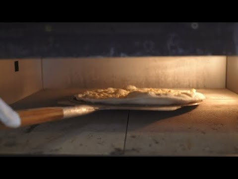 Pizza Baking in Oven | Stock Footage