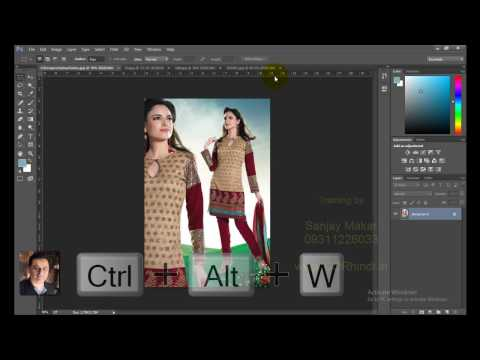 Learn Photoshop in hindi- 20 - photo, images, close single & multiple