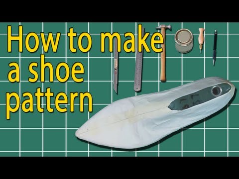 How to make shoes basic pattern
