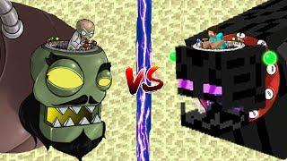 minecraft plants vs zombies 2
