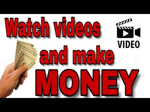 make money watching videos || How to get paid to watch videos || hindi