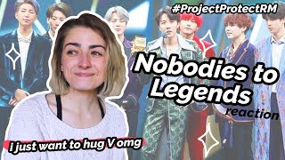 crying for 30 minutes straight ✰ Nobodies to Legends BTS Reaction!