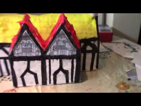 How to make a Tudor house?