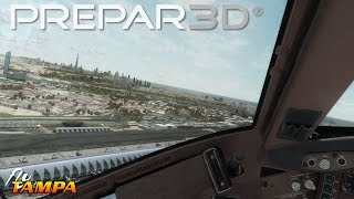 Prepar3D V3 3 - PMDG 737 Palm Springs [Awesome Realism