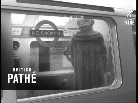 Queen Opens New Victoria Line (1969)