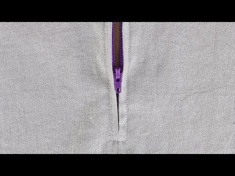How To Sew A Zipper In A Skirt