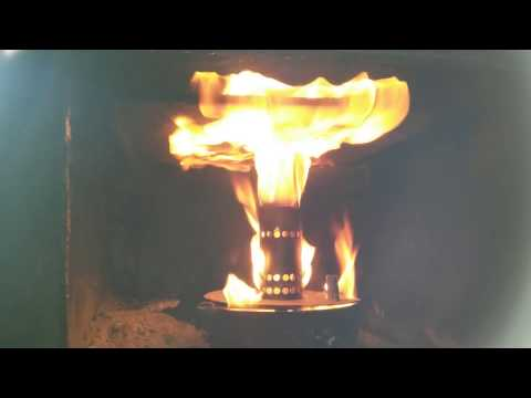 DIY - Hybrid Waste Oil / Wood Stove on Steroids!!