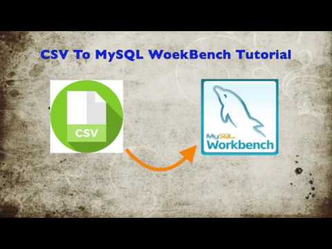 Tutorial: How to Download MySql Workbench and Import CSV File Into It