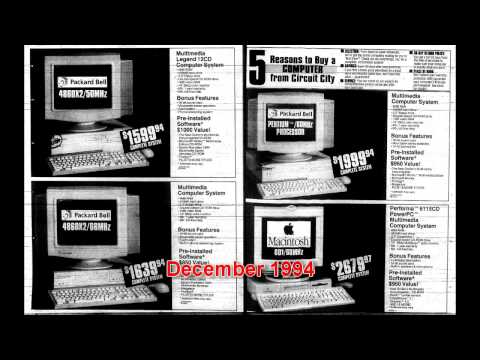 Vintage Newspaper Ads (1989-1995)