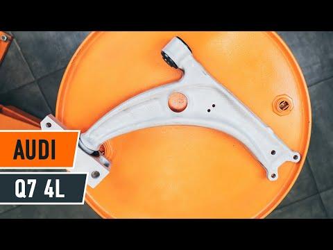 How to replace Front Suspension Arm on AUDI Q7 4L TUTORIAL   AUTODOC