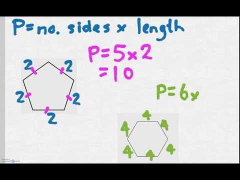 Calculating the perimeter of regular polygons