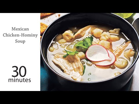 How to Make Mexican Chicken Hominy Soup | MyRecipes