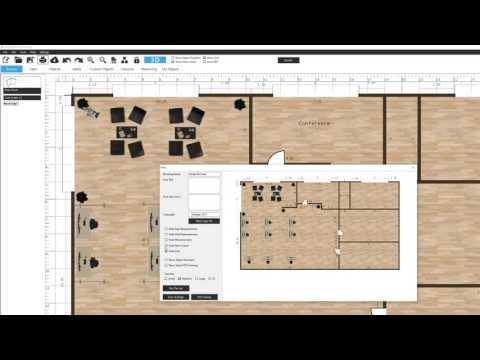 Ecdesign 4.6- floorplan print