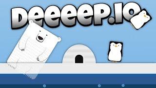 Deeeep.io - Deadly Polar Bear and Flying Penguins! -  - Lets Play Deeeep.io Gameplay