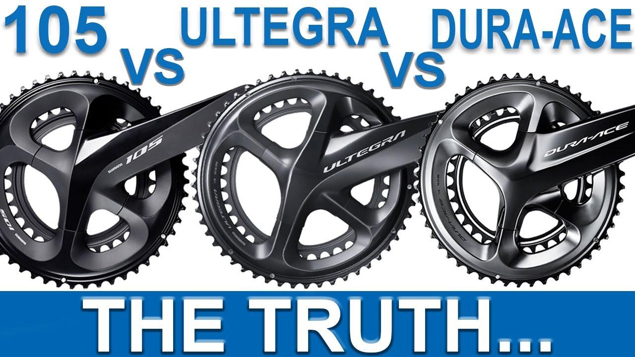 Shimano 105 VS Ultegra VS Dura-Ace (THE TRUTH...)