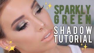 Sparkly Green Eyeshadow Tutorial