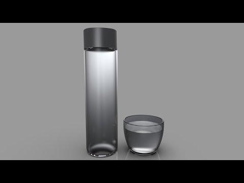 SolidWorks Tutorial: VOSS Water Bottle