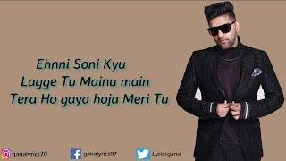 (LYRICS): Enni Soni Full Song | Saaho | Guru Randhawa, Tulsi Kumar | Prabhas, Shraddha Kapoor